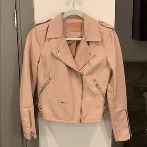 BLANKNUC faux leather jacket